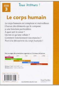 Livres Couvertures de Le corps humain Niveau 3 - Tous lecteurs ! - Ed.2011