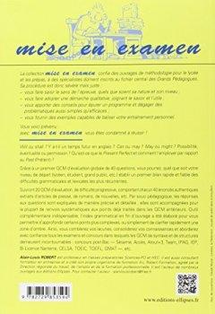 Livres Couvertures de QCM d'anglais : Méthodologie et application