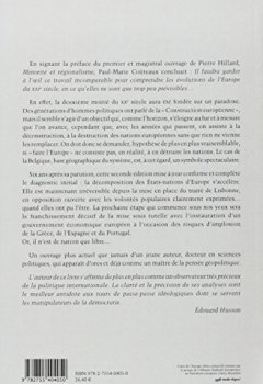 Livres Couvertures de La décomposition des nations européennes : De l'union euro-atlantique à l'Etat mondial