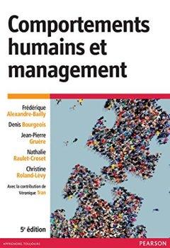 Livres Couvertures de Comportements humains et management 5e édition
