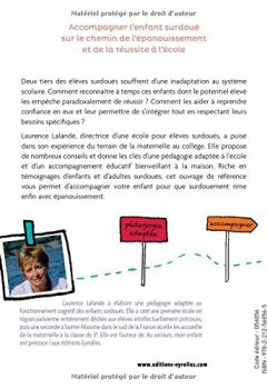 Livres Couvertures de Réconcilier l'enfant surdoué avec l'école : Stop à l'échec scolaire !