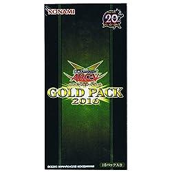 遊戯王アーク・ファイブ オフィシャルカードゲーム GOLD PACK 2016 BOX