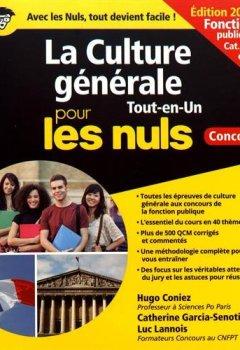 Livres Couvertures de La Culture générale pour les Nuls Concours - Fonction publique, nouvelle édition