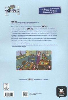 Livres Couvertures de Zoom 1 A1.1 : Cahier de français langue de scolarisation (1CD audio)