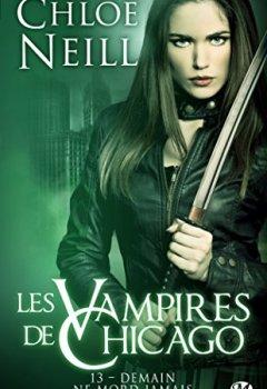 Livres Couvertures de Les Vampires de Chicago, T13 : Demain ne mord jamais