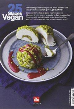 Livres Couvertures de 25 glaces vegan