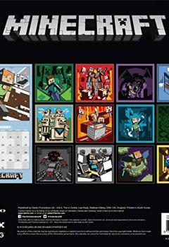Livres Couvertures de Minecraft Official 2019 Calendar - Square Wall Calendar Format