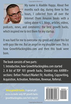 Livres Couvertures de TOP 101 Growth Hacks: The best growth hacking ideas that you can put into practice right away