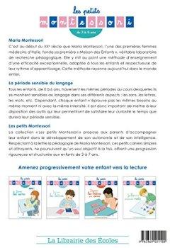 Livres Couvertures de Les petits Montessori - J'Écoute les Sons