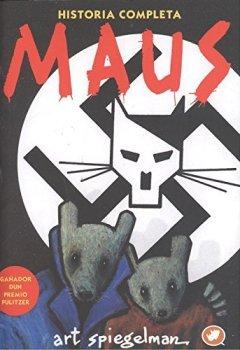 Portada del libro deMaus: Historia completa (Novela Gráfica)