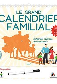 Livres Couvertures de Le grand calendrier familial : De septembre 2018 à décembre 2019