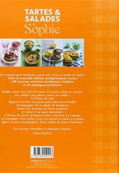 Livres Couvertures de Tartes et salades de Sophie