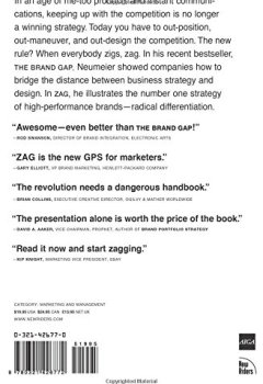 Livres Couvertures de ZAG: The #1 Strategy of High-Performance Brands
