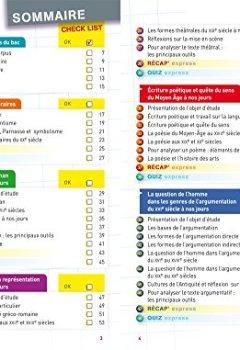 Livres Couvertures de Fiches bac Français 1re toutes séries: fiches de révision Première séries générales et technologiques