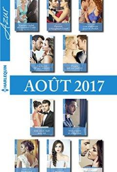 Livres Couvertures de 10 romans Azur + 1 gratuit (nº3855 à 3864 - Aout 2017)
