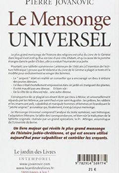 Le Mensonge Universel de Indie Author