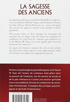 Livres Couvertures de La sagesse des anciens : Comment intégrer des vérités éternelles dans notre vie de tous ls jours