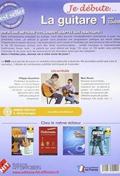 Livres Couvertures de Je Debute la Guitare (Version DVD)