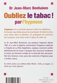Livres Couvertures de Pour tous ceux qui n'y arrivent pas... Oubliez le tabac! par l'hypnose