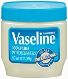 Vaseline 100% Pure Petroleum Jelly, 13-Ounce Jars (Pack of 6)