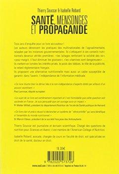 Livres Couvertures de Santé, mensonges et propagande