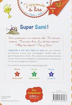 Livres Couvertures de Sami et Julie CP Niveau 1 Super Sami