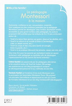 Livres Couvertures de La pédagogie Montessori à la maison : 200 activités