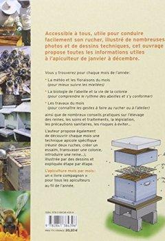 Livres Couvertures de L'apiculture mois par mois : Toutes les informations et les gestes utiles pour conduire son rucher de janvier à décembre