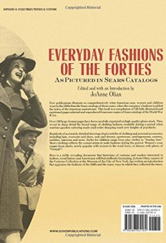 Livres Couvertures de Everyday Fashions of the Forties. As Pictured in Sears Catalogs