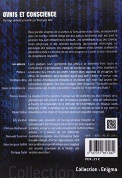 Livres Couvertures de Ovnis et Conscience - L'Inexpliqué au coeur du nouveau paradigme de la physique