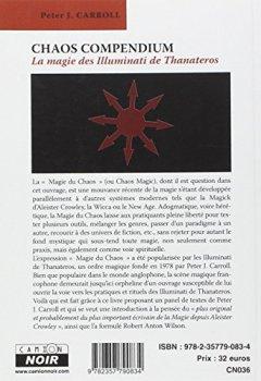 Livres Couvertures de CHAOS COMPENDIUM La magie des Illuminati de Thanateros