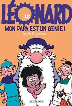 Livres Couvertures de Léonard - tome 48 - Mon papa est un génie