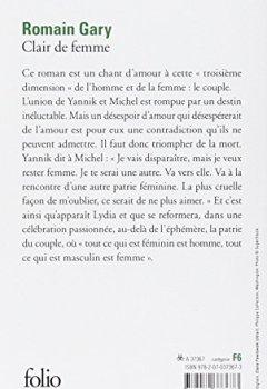 Livres Couvertures de Clair de femme