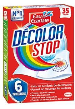 Livres Couvertures de Eau Ecarlate - Décolor Stop - Lingette Anti Décoloration- Etui de 35 Lingettes