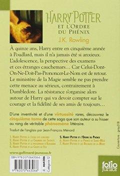 Livres Couvertures de Harry Potter, V:Harry Potter et l'Ordre du Phénix