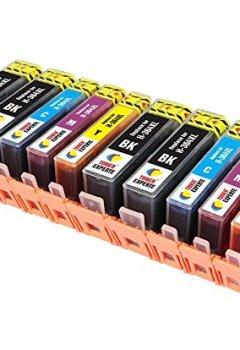 Livres Couvertures de Pack 10 XL TONER EXPERTE® Cartouches d'encre compatibles pour HP 364XL Photosmart 5510, 5511, 5512, 5514, 5515, 5520, 5522, 5524, 6510, 6512, 6515, 6520, 7515, B010a, B109a, B109d, B109f, B109n, B110a, B110c, B110e, Photosmart Plus B209a, B209c, B210a, B210c, B210d, Deskjet 3070A, 3520, 3522, 3524, Officejet 4610, 4620