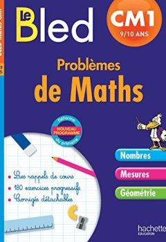 Livres Couvertures de Cahier Bled - Problèmes De Maths Cm1