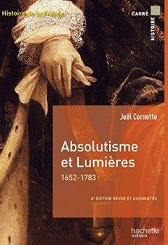 Livres Couvertures de Absolutisme et Lumières 1652-1783