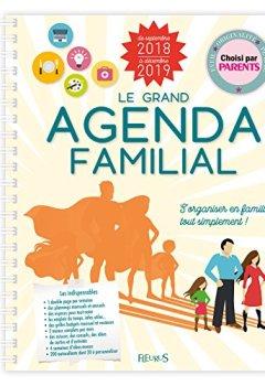Livres Couvertures de Le grand agenda familial 2018-2019
