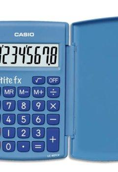 Livres Couvertures de Casio Petite FX Calculatrice Scolaire 8 chiffres Bleu