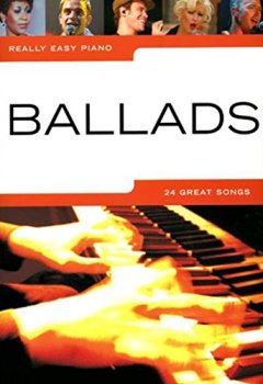 Livres Couvertures de Really Easy Piano Ballads-
