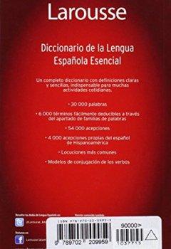 Livres Couvertures de Diccionario Esencial de la Lengua Espanola