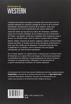 Livres Couvertures de Dictionnaire du western