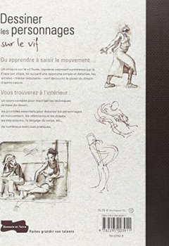 Livres Couvertures de Dessiner les personnages sur le vif