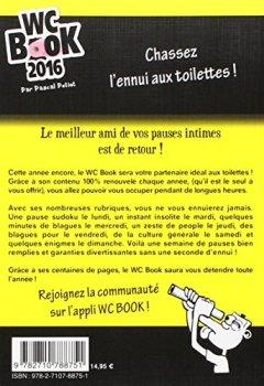 Livres Couvertures de Wc Book 2016 - Le N°1 des toilettes !