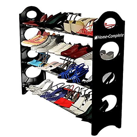 """Tired of messy piles of shoes? Then it's time to get organized with your Shoe Rack Organizer by Home-Complete! Finally, keep your shoes organized, out-of-the-way, and in """"like new"""" condition thanks to your Large Shoe Organizer. Here are 5 Reasons t..."""