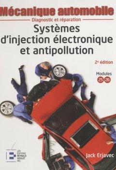Livres Couvertures de Mécanique automobile : Systèmes d'injection électronique et antipollution, 2e édition