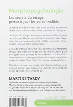 Livres Couvertures de Morphopsychologie Traité pratique : Lire le visage et comprendre la personnalité