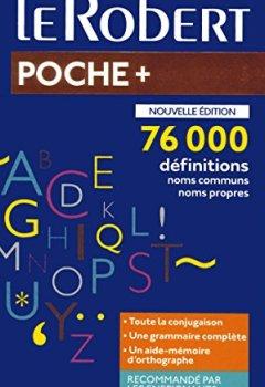 Livres Couvertures de Dictionnaire Le Robert de poche 2019