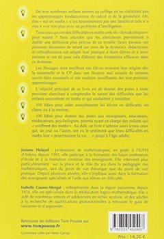 Livres Couvertures de 100 idées pour aider les élèves dyscalculiques
